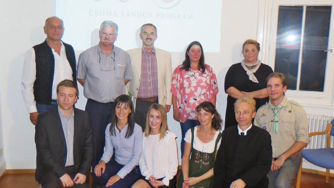 Stuttgarti mentorok és ösztöndíjasok