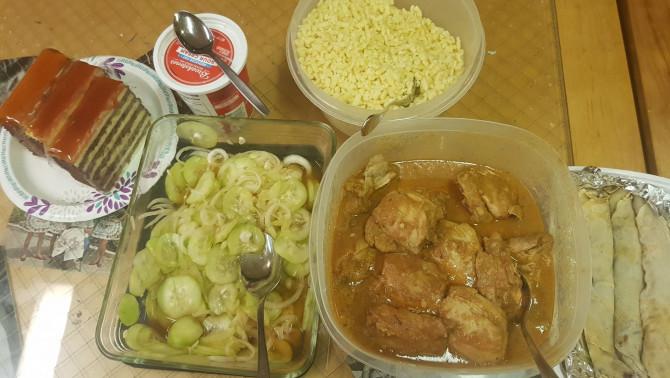 Hálaadás - magyar vacsora
