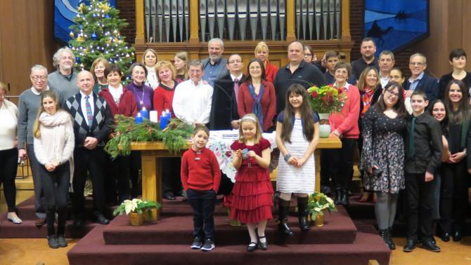 Seattle; karácsonyi istentisztelet