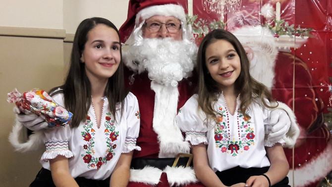 Magyar lányok és a Mikulás