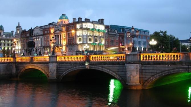 Február Dublinban