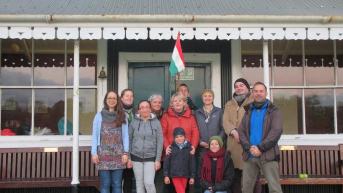 Alakuló Írországi Magyar Cserkészet Corkban