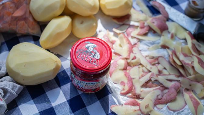 Ízek, Pisták, burgonyák - Aggie's Food Studio fotója