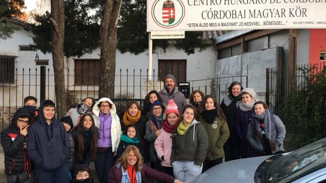 Az Uruguayi Magyar Otthon csapata