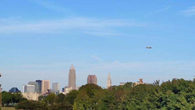 Cleveland az Edgewater Park felől