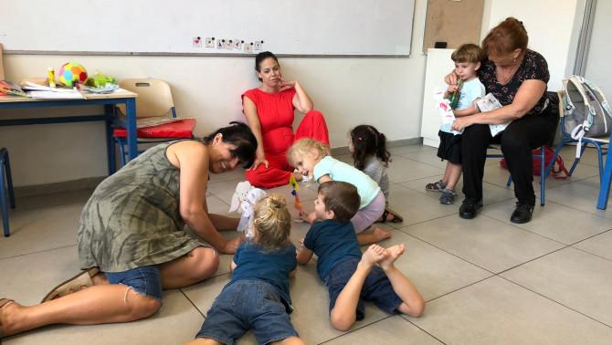 Játszva tanulás az Efrajim Kishon Magyar Oktatási Központban