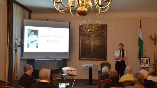 Andrási Erika előadása Feszty Masa életéről és vallási témájú festményeiről
