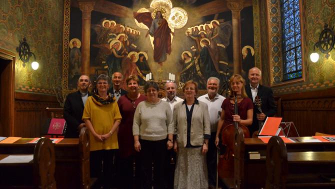 Kájoni János - csoportkép