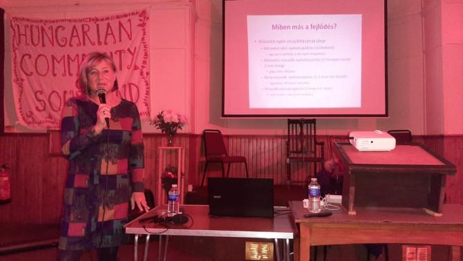 Dr. Navracsics Judit professzor asszony előadása