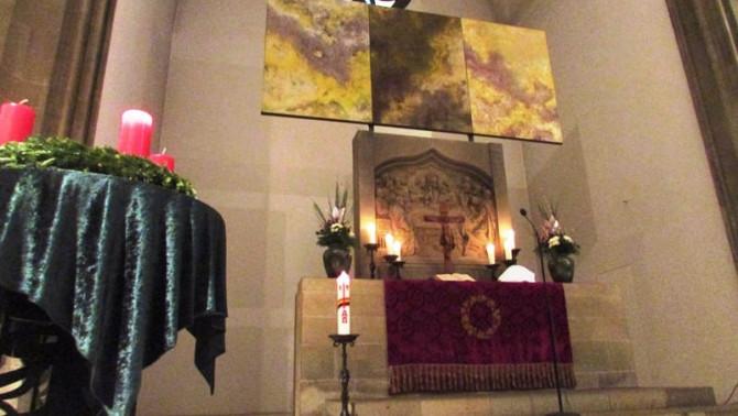 Grunewaldkirche oltár
