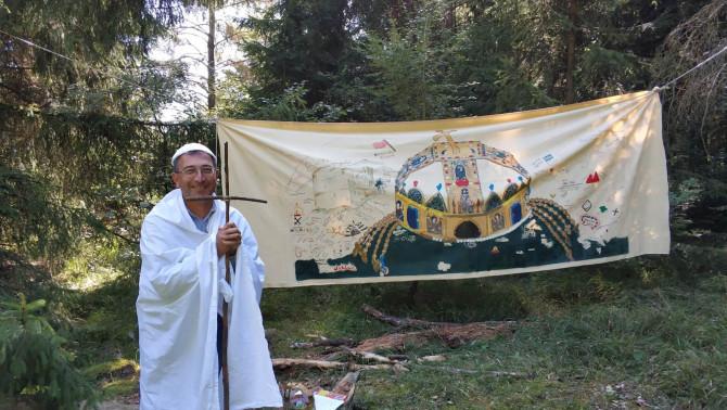 A pápa és a magyar korona