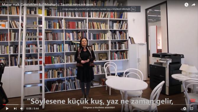 Néprajzi ismeretterjesztés a világhálón Törökországban