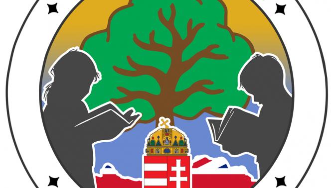 A Magyar Iskola Woking logója
