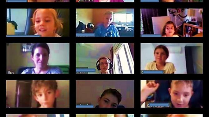 A Brisbane-i Magyar Iskola online környezetben