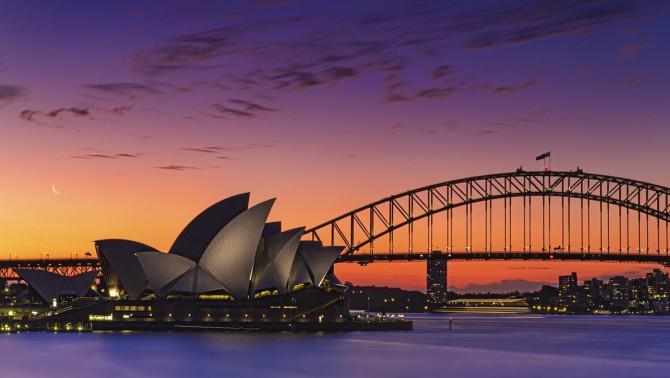 Sydney látkép