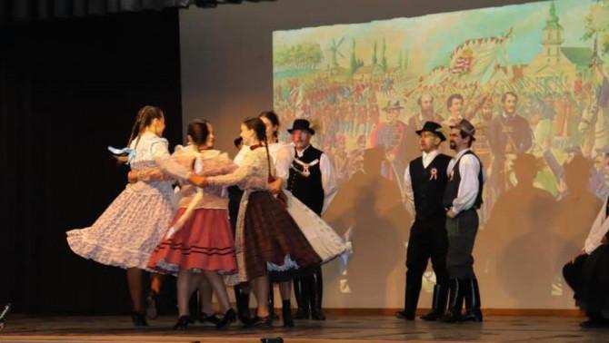 Március 15. műsor. Szatmári táncok, Fonó Táncegyüttes