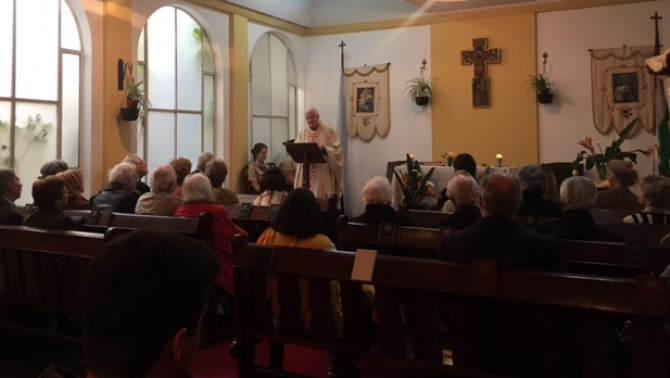 Mise a Mindszentynum kápolnájában
