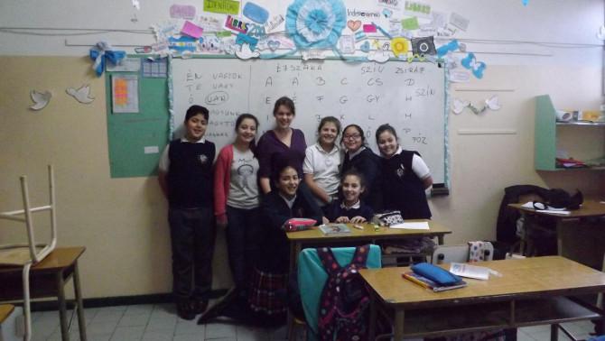 Argentin iskolai csoport
