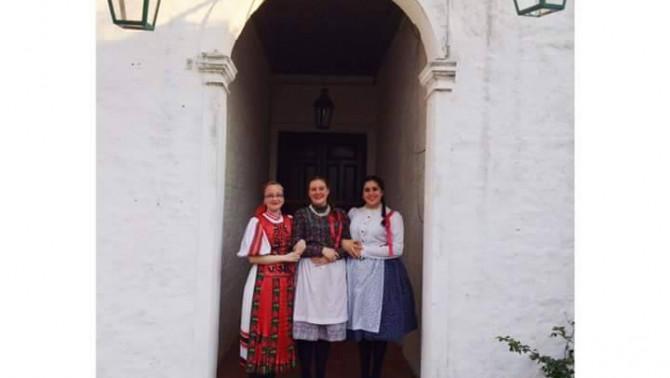 Dél-amerikai magyar lányok
