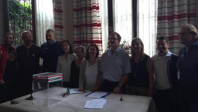Az Uruguay-i Magyar Otthon új vezetősége