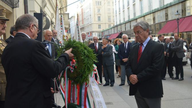 Radda István az Ausztriai Magyar Szervezetek Kerekasztalának elnöke