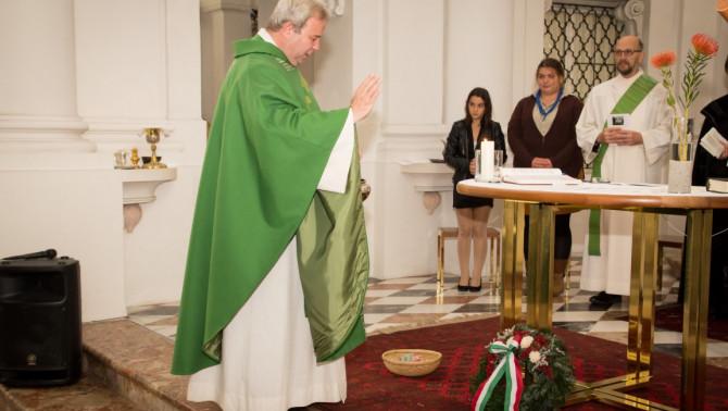 Nagy-György Attila, az innsbrucki magyarok katolikus lelkésze