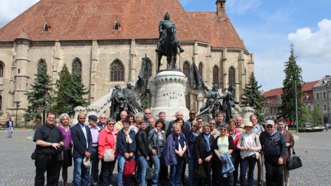 Az ausztriai csoport Kolozsváron