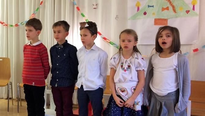 éneklő gyerekek