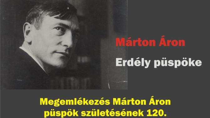 Márton Áron emlékest - Genf