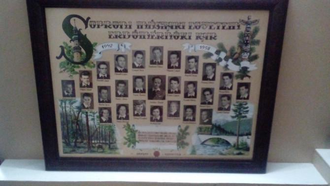 Soproni Erdész tabló