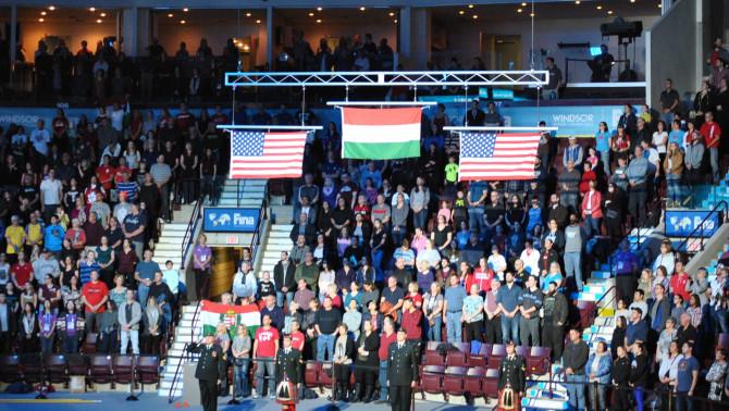 Hat nap alatt hétszer csendült fel a magyar Himnusz