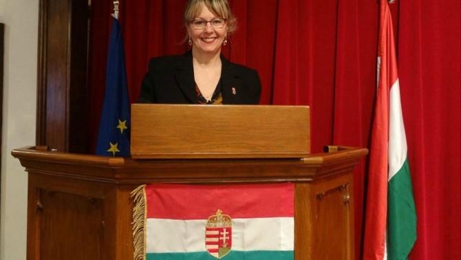 Grauzer Csilla, tiszteletbeli konzul (Foto: Takács Tímea)