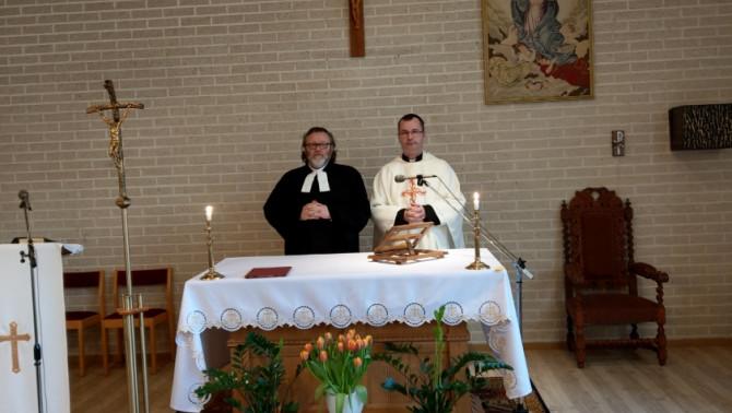Ökumenikus istentisztelet Ljungbyban