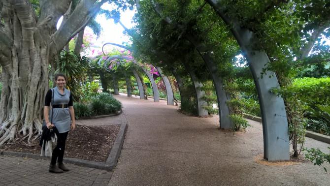 Brisbane-i városnézés