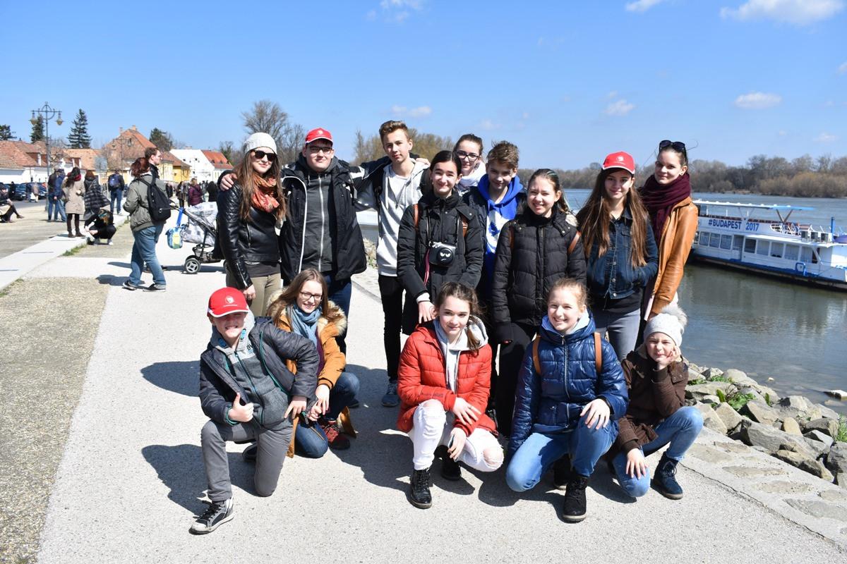 Ausztriai magyar gyerekek Szentendrén