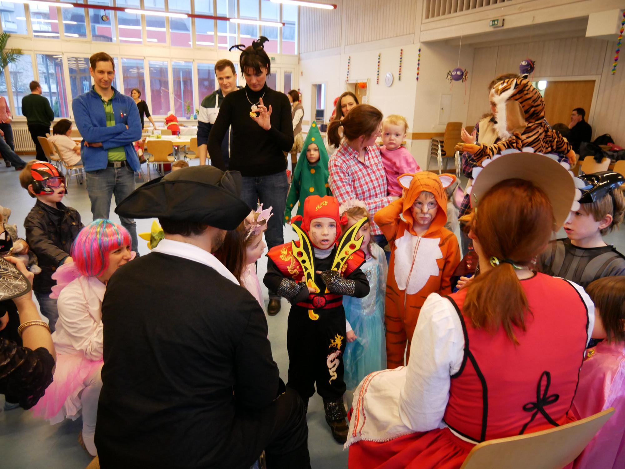 Farsangi mulatság gyerekeknek a Nürnbergi Magyar Gyerekcsoport szervezésében