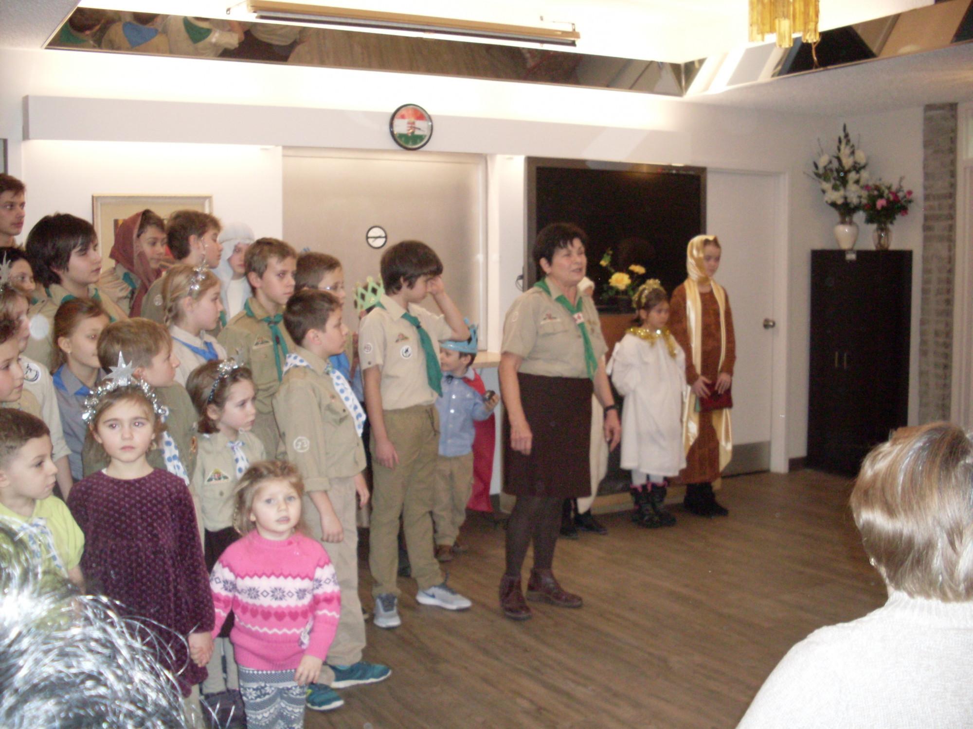 Karácsonyi ünnepség a Magyar Otthonban