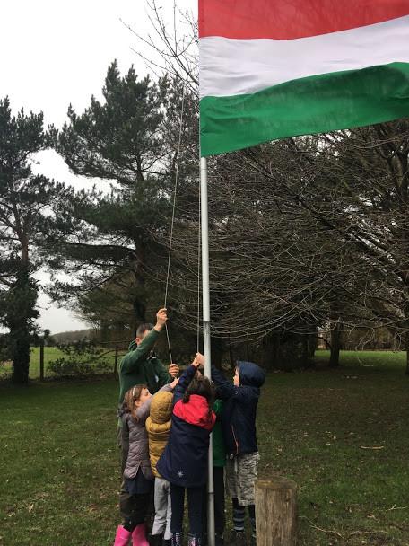 Zászlólevonás