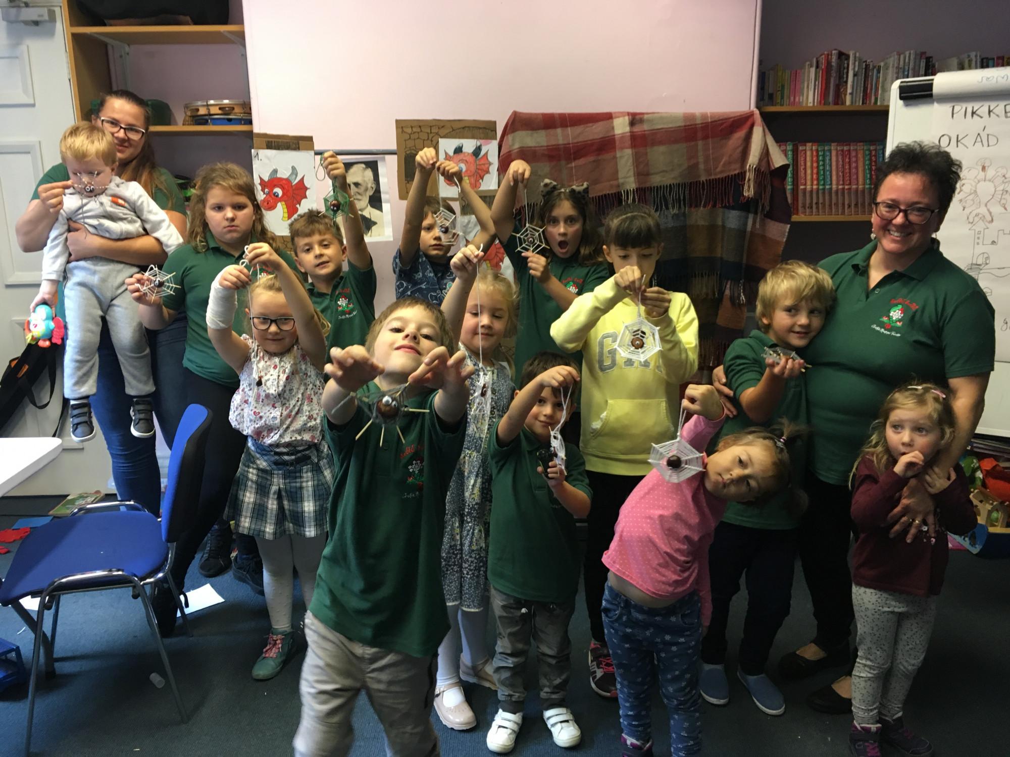 A chesteri magyar tanodások