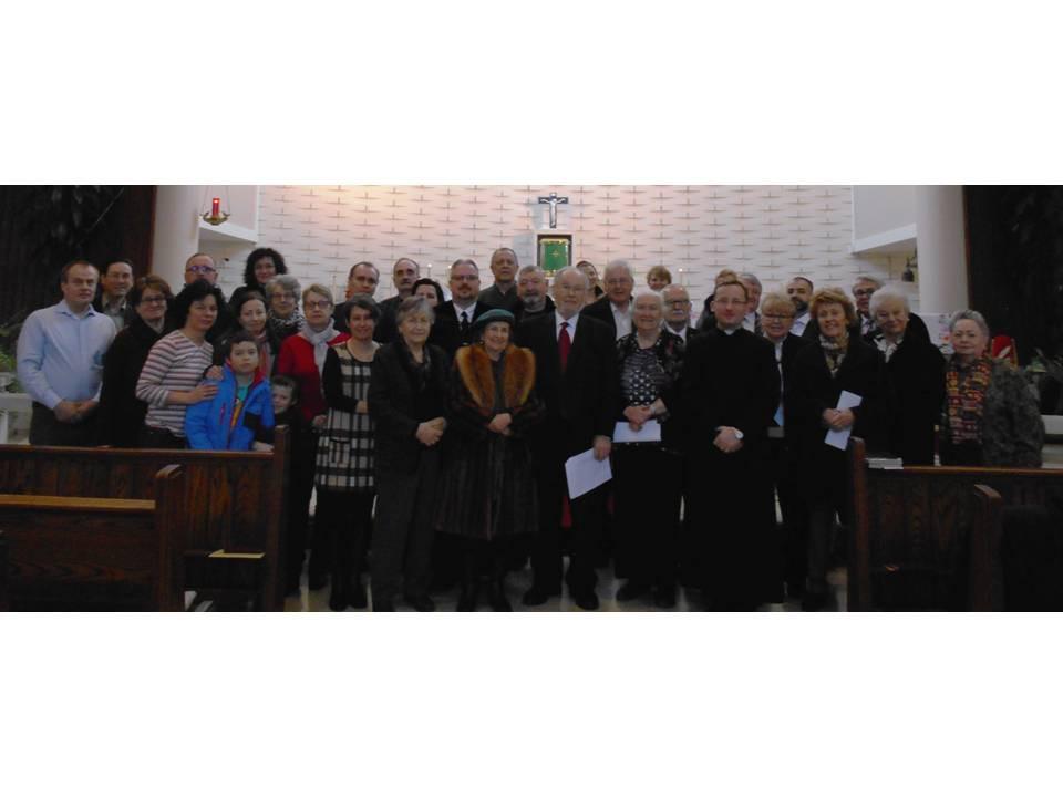 Az imádság résztvevői