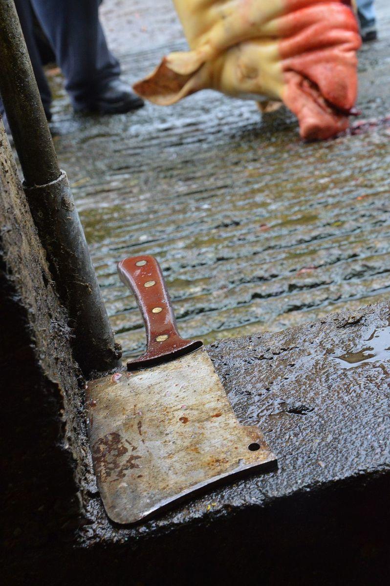 disznóvágás Corkban
