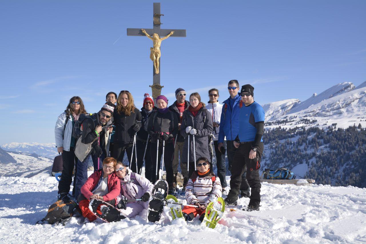 Hótalpas túra a Zürichi Magyar Egyesület sport szakcsoportjával