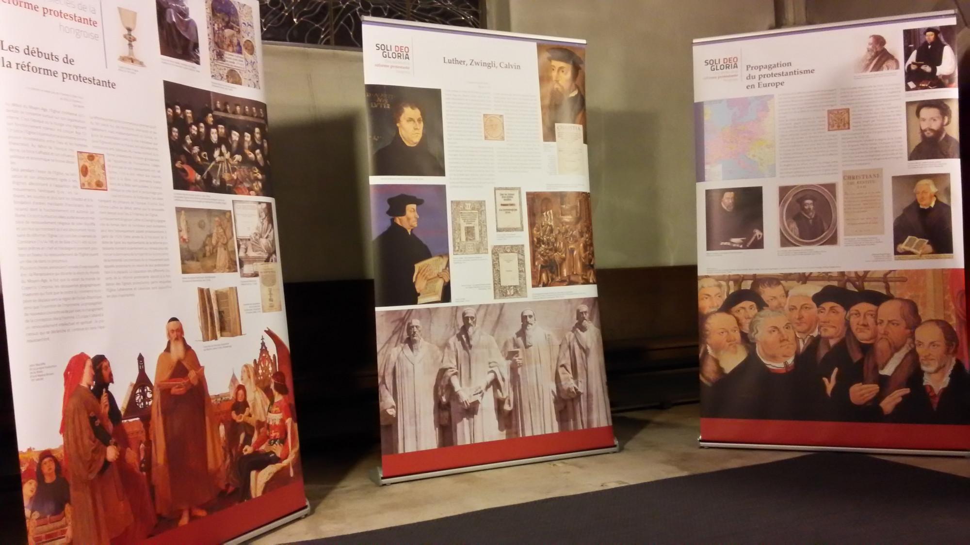 A kiállítás kezdő képei